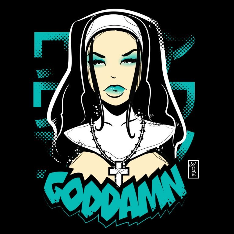 Goddam Sexy Nun