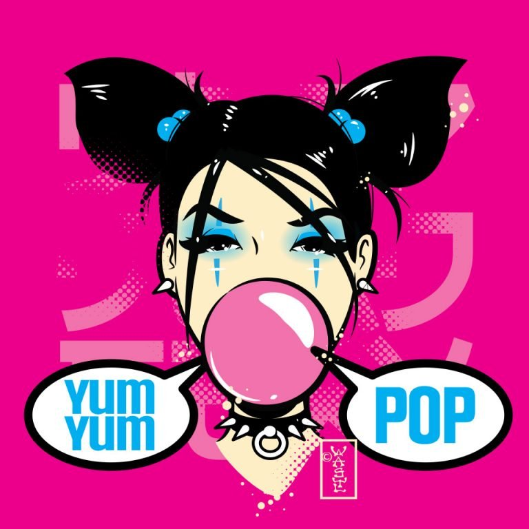 Yum Yum Pop Bubblegum Girl